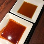 64351081 - 焼肉のタレとポン酢