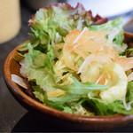 恵比寿 鐵玄 - サラダも頂けます