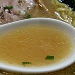 中華そば 青葉 - スープアップ‼