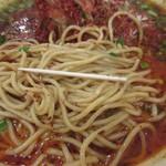 雲林坊 - 汁ありの麺、細さ