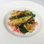 ロージア - 3/24 春野菜とたけのこのアーリオ・オーリオ