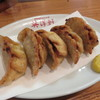 英洋軒 - 料理写真:揚ぎょうざ(5個)