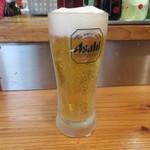 英洋軒 - 生ビール