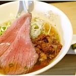 麺屋 西川 - 特製牛骨麺 1000円 色んな要素がバランスよくまとめ上げられた一杯だと思います。