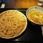 金豚雲 - 肉汁うどん 中 750円