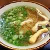 上六庵 - 料理写真:「黄いそば」(350円)。