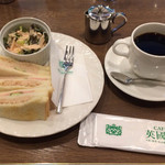 喫茶館 英国屋 神戸 - モーニングCセット:¥490