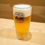 太郎寿司 - 生ビール