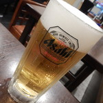 巣鴨ときわ食堂 - 生ビール中ジョッキ