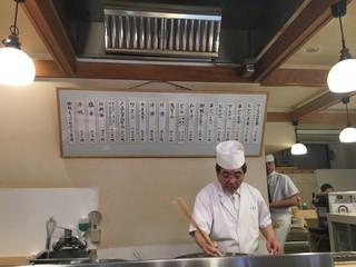 とんき - オープンカウンター