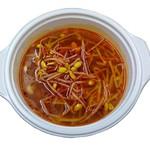 たから亭 - 大豆辛もやしスープ