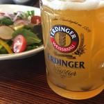 サイボク - エルディンガーと10品目の地元野菜サラダ