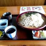 鐘聞亭 - 二色麺1250円