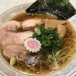 らーめん 五ノ神精肉店 - 【2017.3.21】鶏中華そば¥750