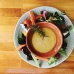 アドマーニ - 朝採れ野菜いっぱいです♫