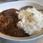 鶏 ソバ カモシ - ミニカレー