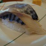 回転寿司 魚敬 - シメサバ