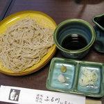 味処ふる川 - 盛りそば(530円)