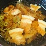 日菜魚 - 日菜魚 @茅場町 お刺身定食で選んだ豚汁