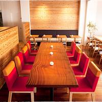 コーヒーハウス ソル  - 大テーブル