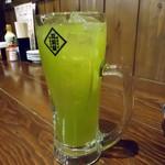筑前屋 - 「緑茶ハイ」