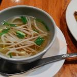 マンゴツリーカフェ - もやしスープ