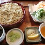 蕎麦奉行 - 桜海老天そば