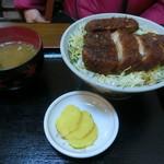 中華料理 きよし - ソースカツ丼上
