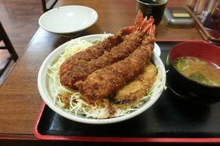 中華料理 きよし - エビフライ丼