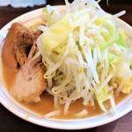 零一弐三 - ミニラーメン+野菜にんにく