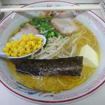 時計台 - 料理写真:「味噌バターラーメン」740円