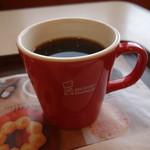 ミスタードーナツ - コーヒー270円(内税)。