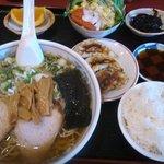 香蘭 - ラーメンセット(750円)