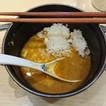 64390531 - 味玉カレーつけめん(2玉)〆飯付(多め) 1,000円