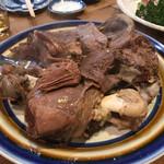 山女庵 - 骨付き鹿肉のボイル
