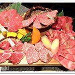 64392019 - 安芸の膳 極みの肉盛り