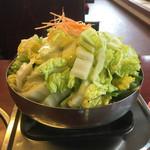 64392371 - とり野菜鍋一人前700円税込み