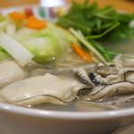 赤穂らーめん麺坊 - あっさり塩味によく合います(2017.3.24)