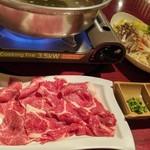 まるよし - 料理写真:馬肉しゃぶしゃぶ