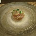 かわ村 - 黒鯛のリーゾ アル サルト ズッパ仕立て