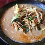 一品香 - 料理写真:野菜坦々麺=980円