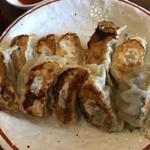 節系とんこつらぁ麺 おもと - 餃子2皿