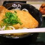 はなまるうどん - きつね(小)/鶏の唐揚げ