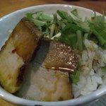 麺屋食堂まさお - ☆ミニチャーシュー丼☆