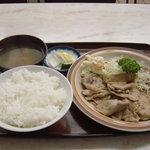 南光軒 - 生姜焼き定食