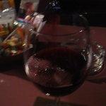 ルーファー - お通しとワイン