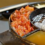 立喰☆焼肉 瑞園 - キムチ