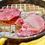立喰☆焼肉 瑞園 - 炭火焼きです。