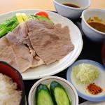 レストラン源 - 特選前沢牛の冷しゃぶ御膳\2,300