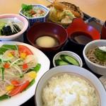レストラン源 - 奥の都どり黄金ランチ\1,800